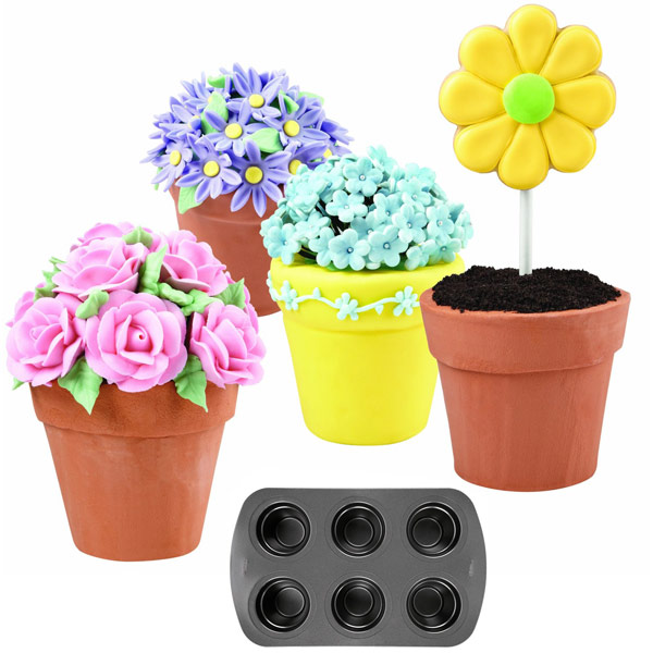 Wilton Flower Pot Cake Pan