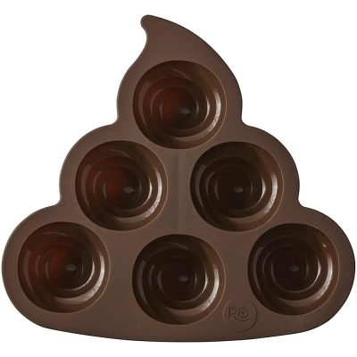 Wilton Poop Swirl Treat Mold