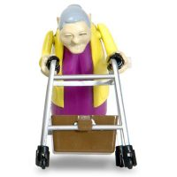 Wind Up Racing Grannies