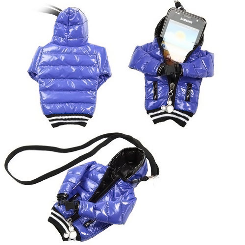Windbreaker Shaped Smartphone Bag