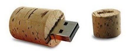 Wine Cork USB Flash Drive