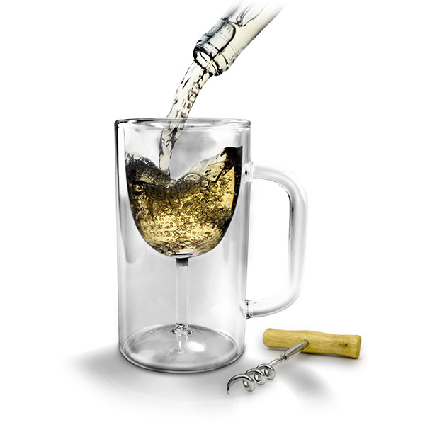 Winestein Glass Beer Mug