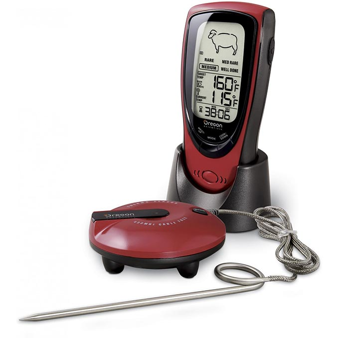 Wireless Talking Grill Thermometer