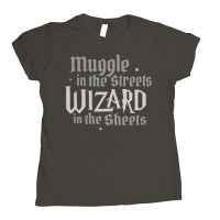 Wizard In The Sheets Juniors T Shirt