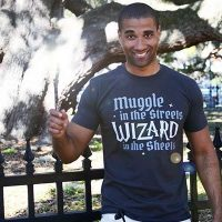 Wizard In The Sheets Mens T Shirt