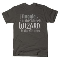Wizard In The Sheets T Shirt