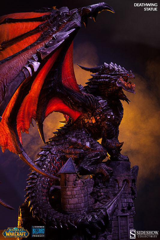 WoW Deathwing Polystone Statue