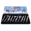 WoW Set of 10 Mini Weapons