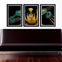 Wolverine 3-Poster Set