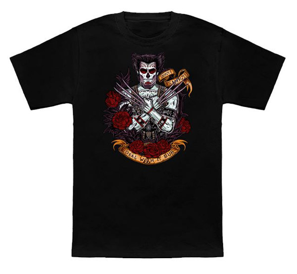 Wolverine Day of the Dead Shirt
