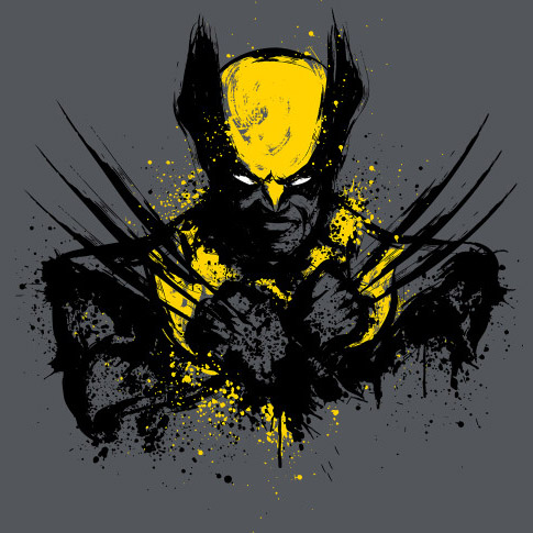 Wolverine Mutant Rage Shirt