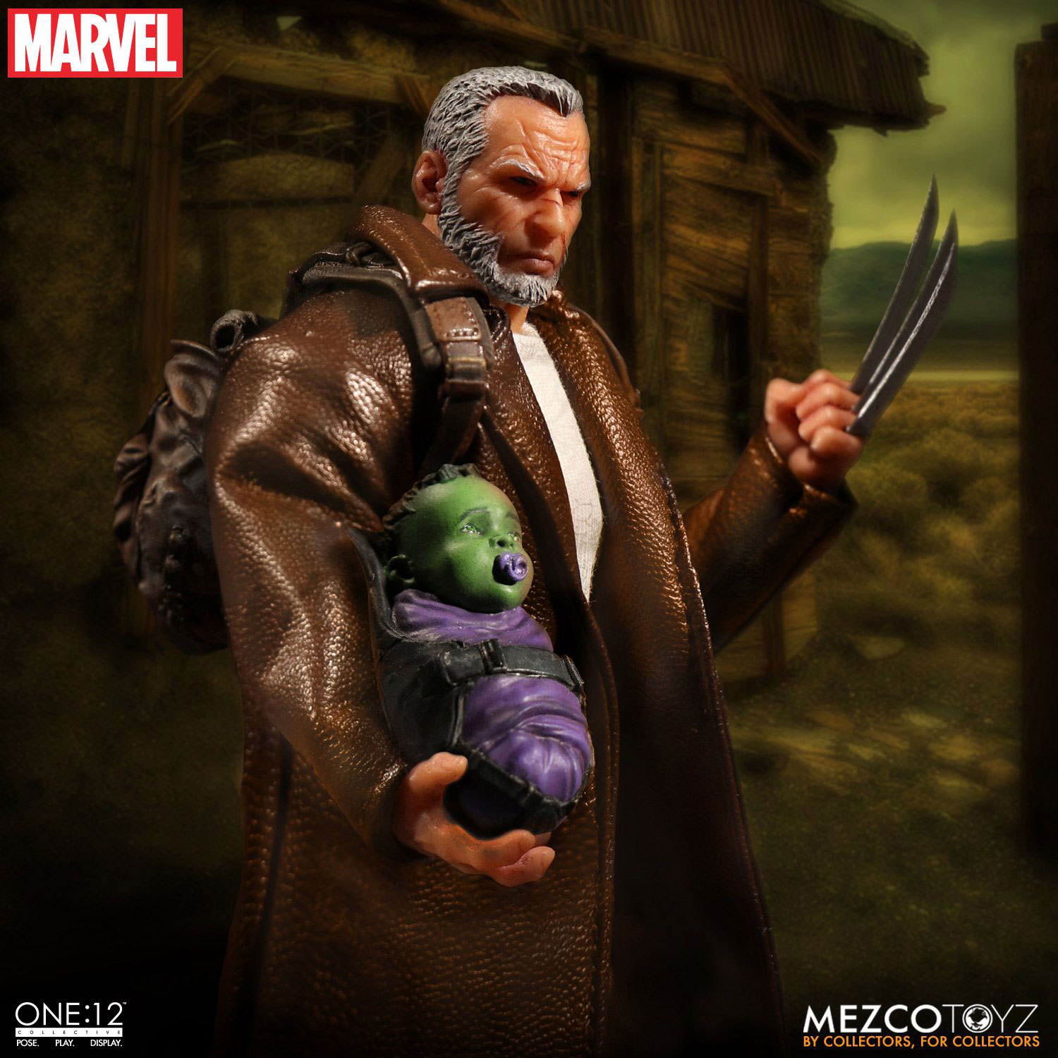 Wolverine Old Man Logan One Collective Action Figure