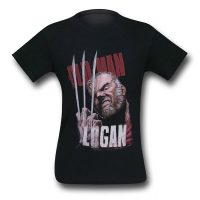 Wolverine Old Man Logan Claws T-Shirt
