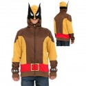 Wolverine Zipper Hoodie