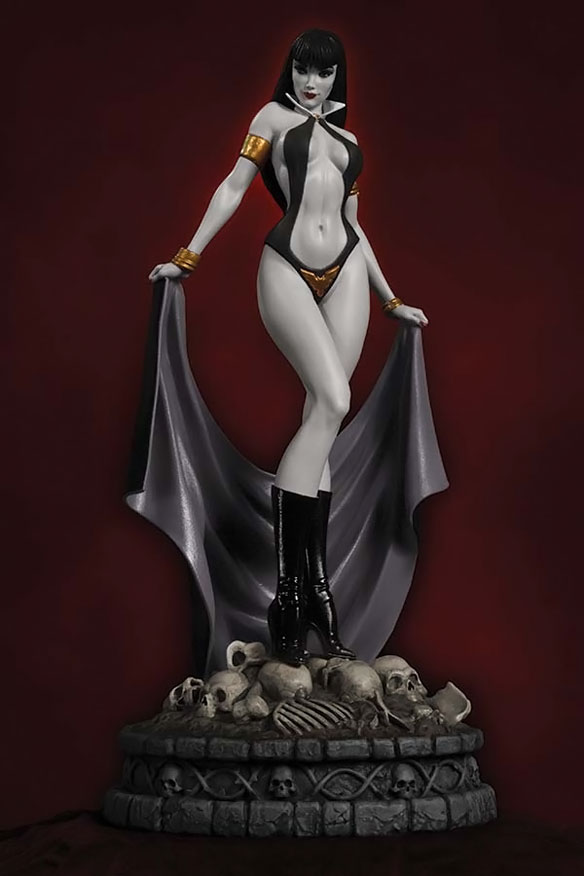 Women of Dynamite Vampirella Black-and-White Limited Edition Statue