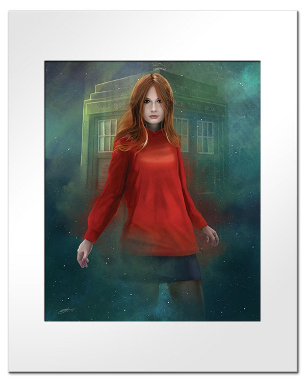 Women of Who Amy Pond