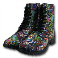 Womens Marvel Comic Boots