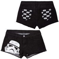 Womens Star Wars Denim Shorts