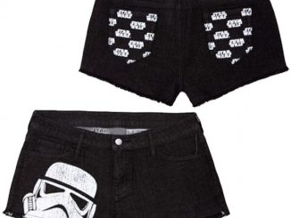 Womens Star Wars Denim Shorts