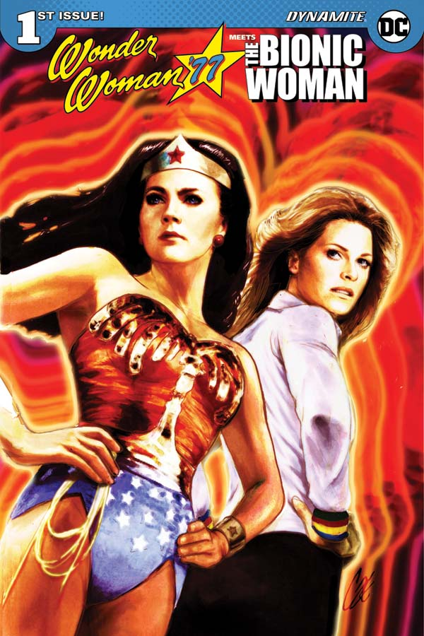 Wonder Woman 77 Meets Bionic Woman Comic Book