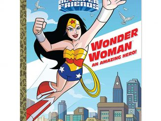Wonder Woman An Amazing Hero! Big Golden Book