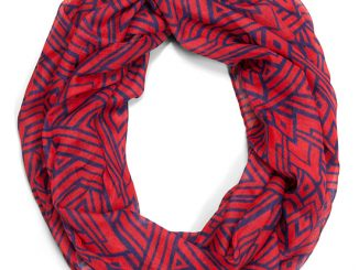 Wonder Woman Art Deco Lightweight Scarf