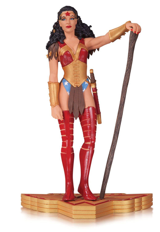 Wonder Woman Art of War Jill Thompson Statue
