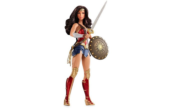 Wonder Woman Barbie Doll Toy