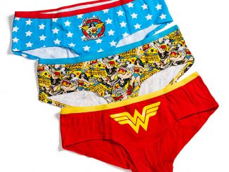 Wonder Woman Boyshorts 3-Pack Panties