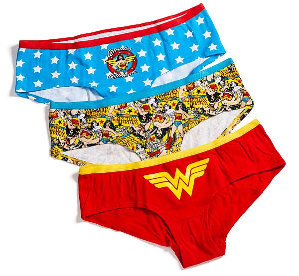 Wonder Woman Boyshorts 3-Pack Panties