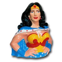 Wonder Woman Bust Cookie Jar