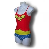 Wonder Woman Cami and Panty Set
