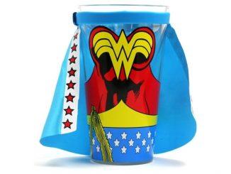 Wonder Woman Caped Pint Glass