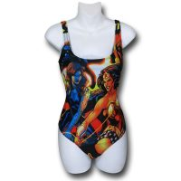 Wonder Woman Cheetah All-Over Print One-Piece Swimsuit