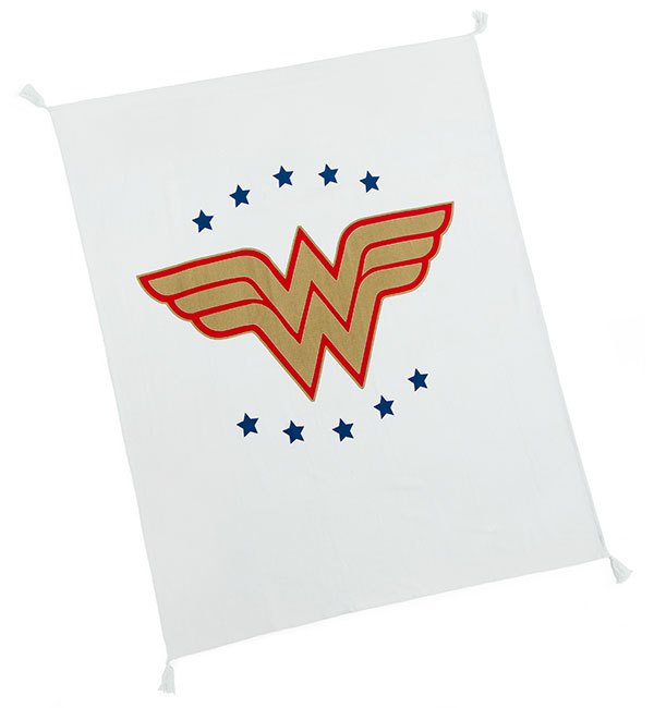 Wonder Woman Cotton Throw Blanket