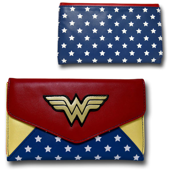Wonder Woman Envelope Wallet
