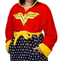 Wonder Woman Fleece Robe