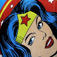 Wonder Woman Fleece Throw Blanket
