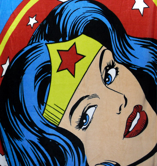 Wonder Woman Fleece Throw Blanket