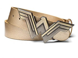 Wonder Woman Gold Faux Leather Belt