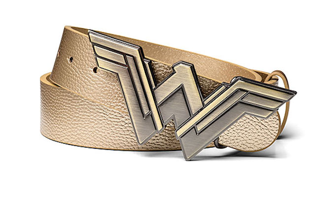 Wonder Woman Gold Faux Leather Belt