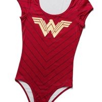 Wonder Woman Gold Foil Bodysuit
