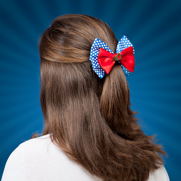 Wonder Woman Hair Bow