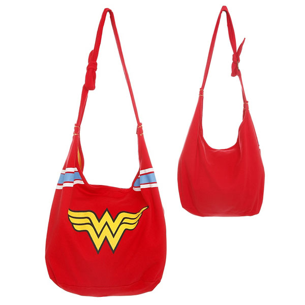Wonder Woman Hobo Bag