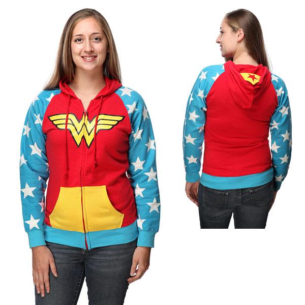 The Wonder Woman Hoodie by SpaceCadetKasey on Etsy