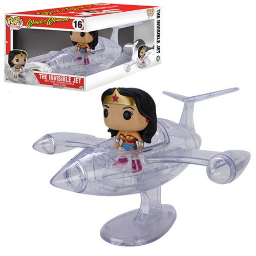 Wonder Woman Invisible Jet Pop Vinyl Vehicle