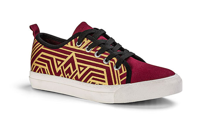 Wonder Woman Ladies' Lace-Up Sneakers