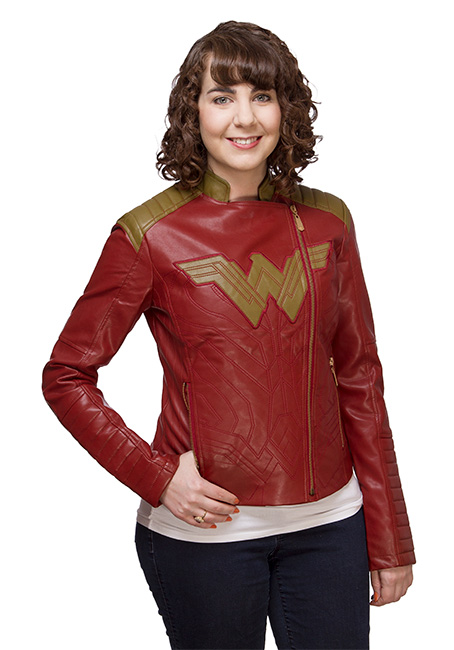 Wonder Woman Ladies' Moto Jacket