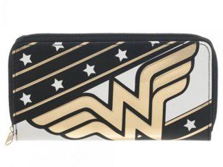 Wonder Woman Large Zip Around Wallet