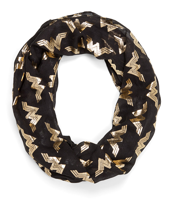 Wonder Woman Logo Lightweight Scarf